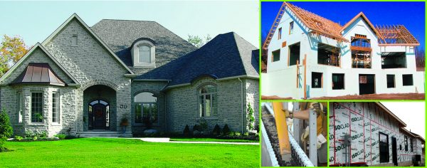 homes built with insulated concrete forms (ICF)
