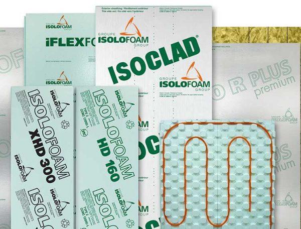 Isolofoam products